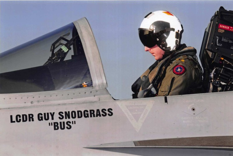 Guy Snodgrass, a former Navy F/A-18 pilot, sued the Pentagon for dragging out a review of his upcoming book.