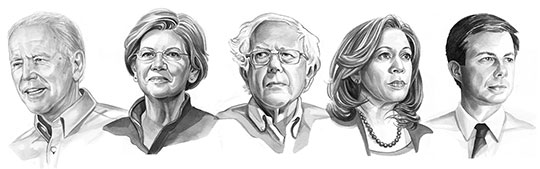 ELECTION 2020 GUIDE - Find out where the Democratic candidates stand on key foreign-policy issues.