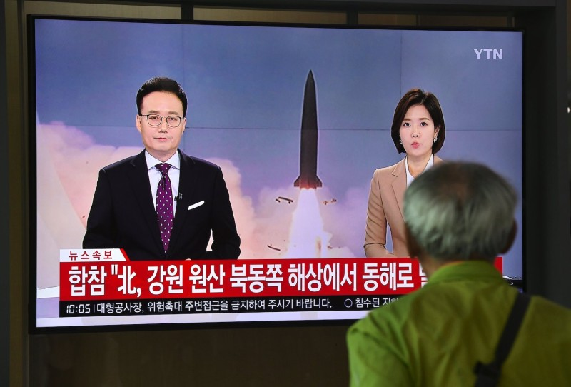 North Korea Tests New Ballistic Missile Ahead of Nuclear Talks