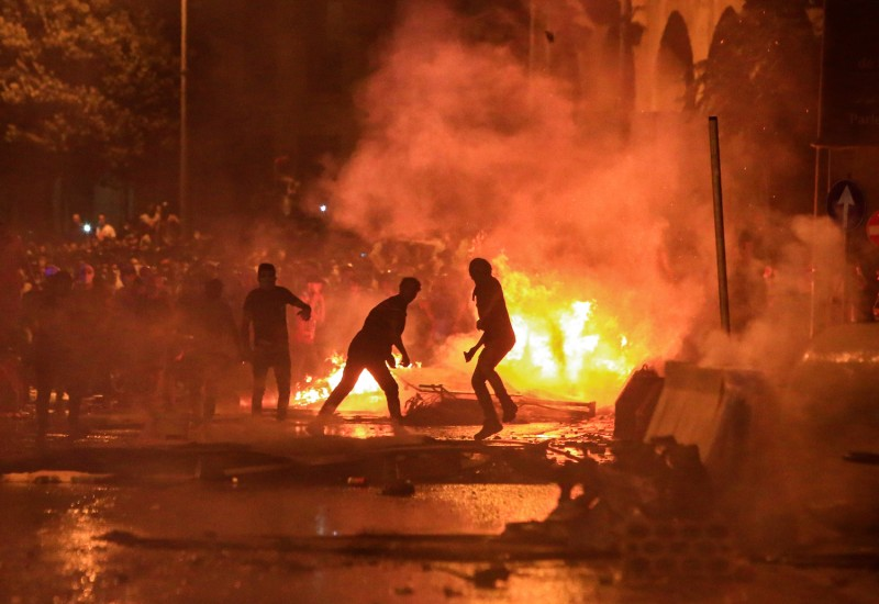 In Lebanon, Pan-Sectarian Protests Are Raging as Forest Fires Burn