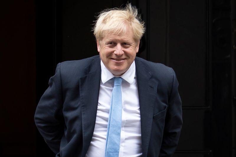 British Prime Minister Boris Johnson is pictured.