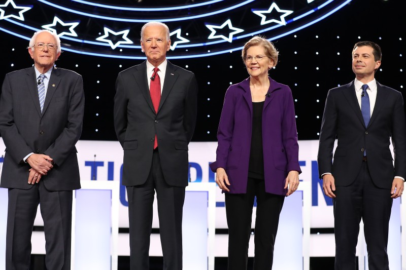2020 Democratic presidential candidates.