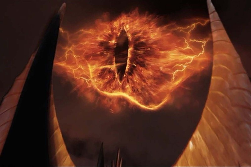 An artistic rendition of Sauron, Dark Lord of Mordor, circa Third Age 3019.