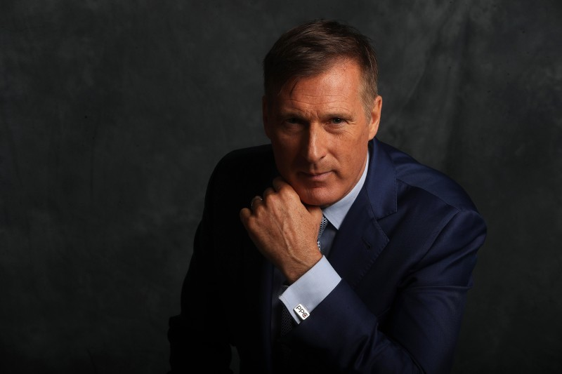 Maxime Bernier, leader of the People's Party of Canada, poses for a photo during a meeting with the Toronto Star's editorial board on Sept. 24.