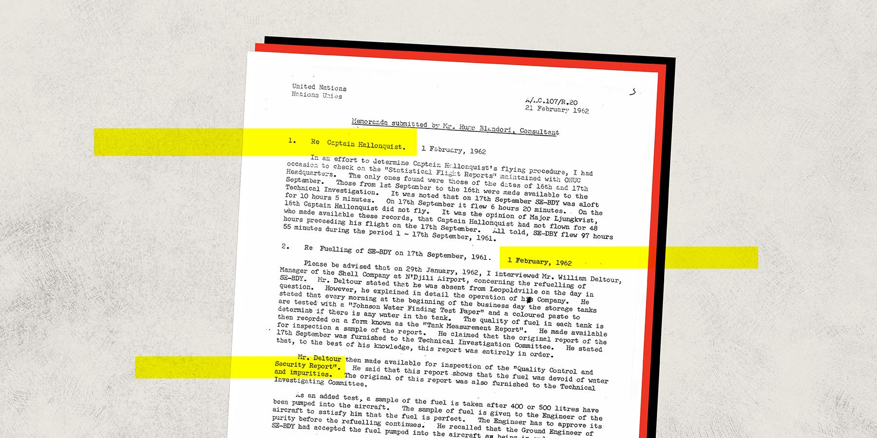 How Race Hampered the Investigation Into Dag Hammarskjold's Death