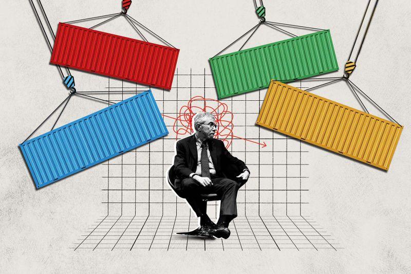 Foreign Policy illustration/Panayiotis Tzamaros/NurPhoto via Getty Images