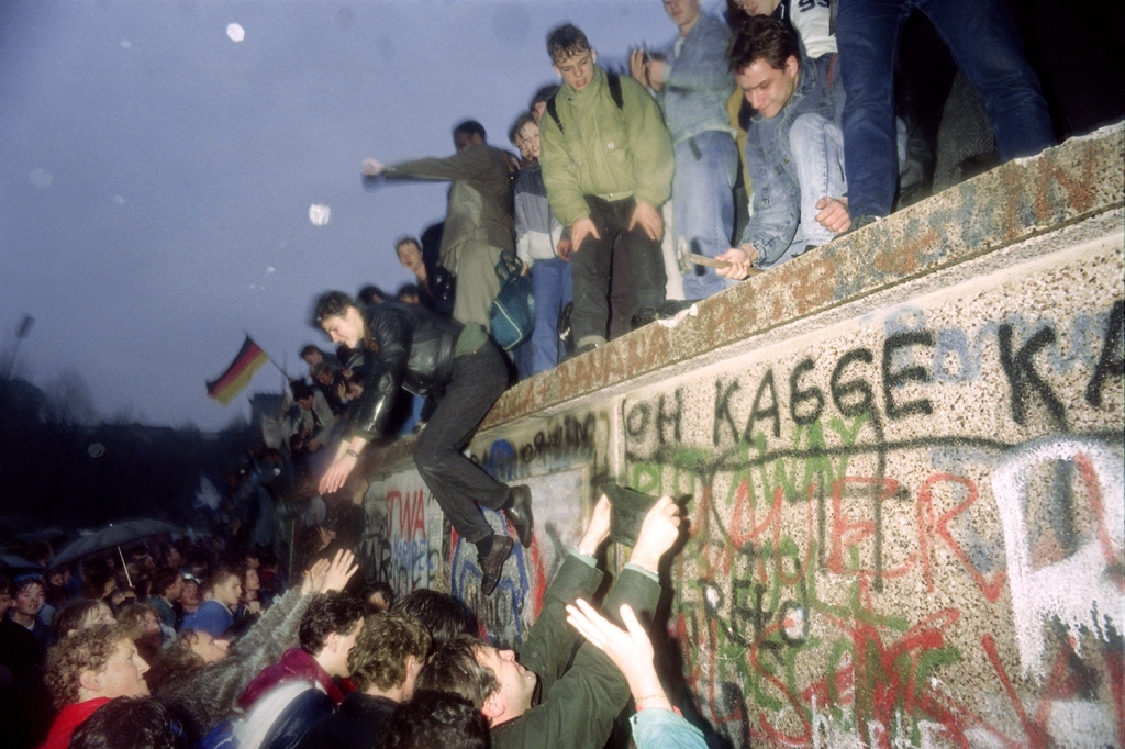 Image result for The Fall of the Berlin Wall
