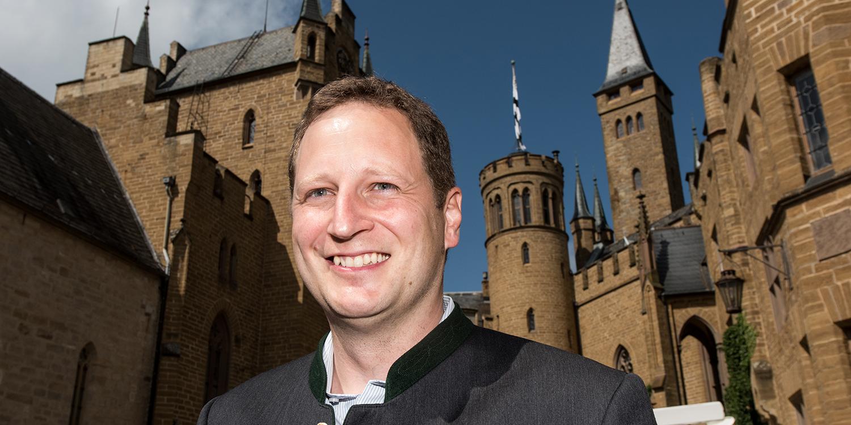 Georg Friedrich Prinz von Preußen at Hohenzollern Castle on Aug. 16, 2017.