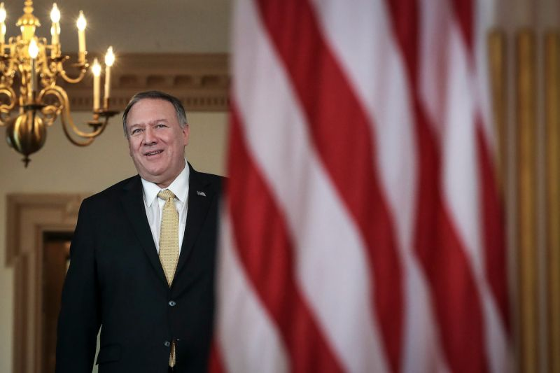 Mike Pompeo at the State Department