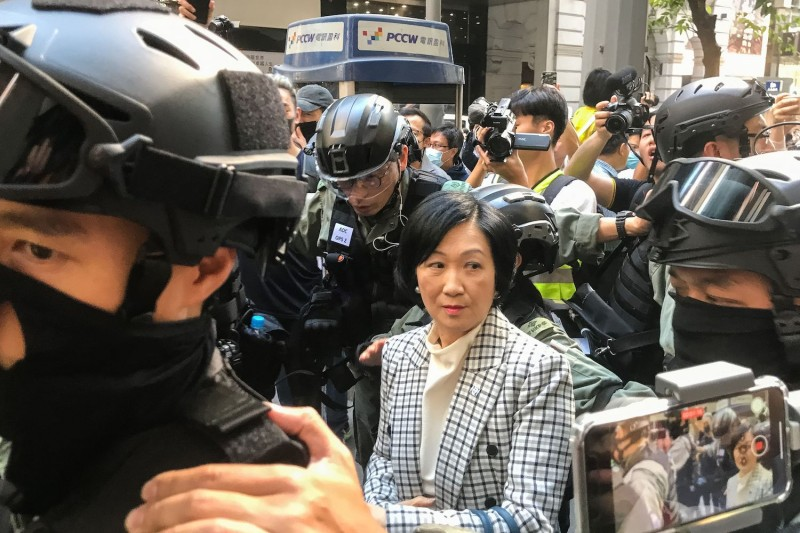 Hong Kong lawmaker Regina Ip