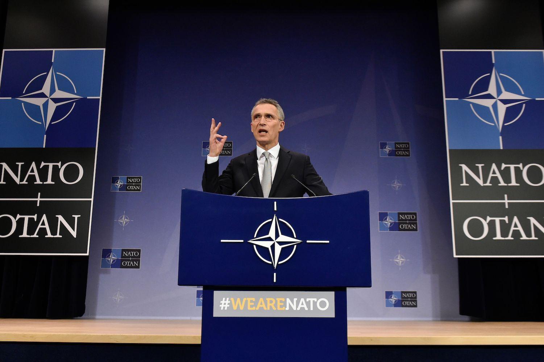 NATO Secretary-General Stoltenberg Shoots Back After French President Emmanuel Macron Calls the Organization Brain-Dead