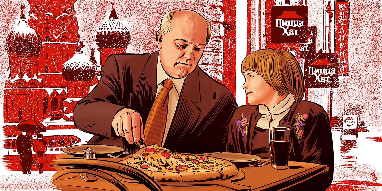 Mikhail Gorbachev's Pizza Hut Thanksgiving Miracle