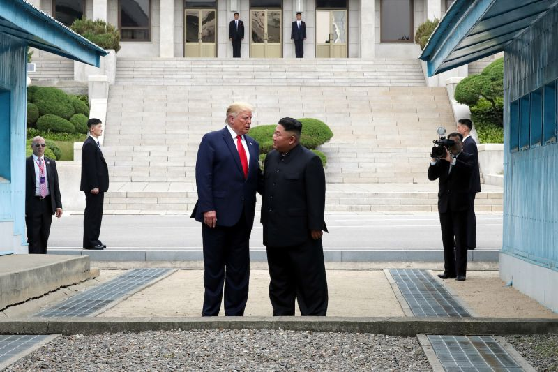 U.S. President Donald Trump Meets North Korean leader Kim Jung Un