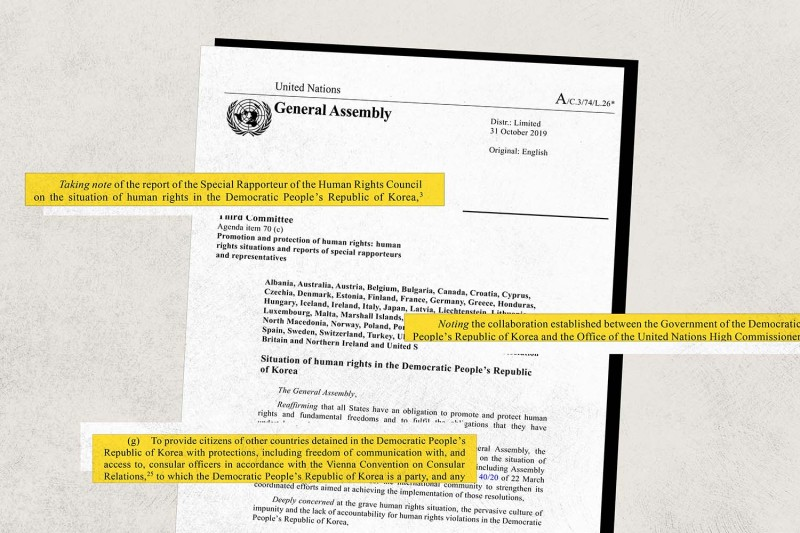 UN-General-Assembly-North-Korea-human-rights-document-2019-article