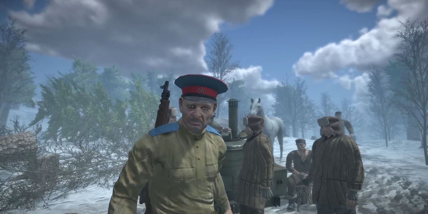 A scene from Gulag.