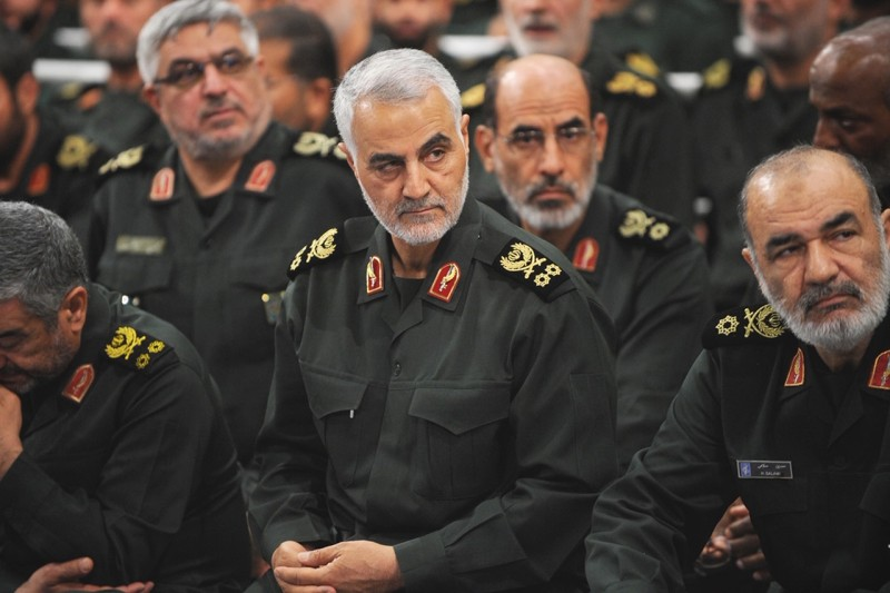 Qassem Suleimani, the head of Iran's Quds Force
