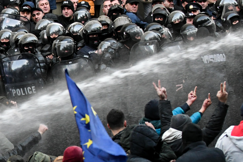 A Flickering Beacon of Democracy in Russia's Backyard