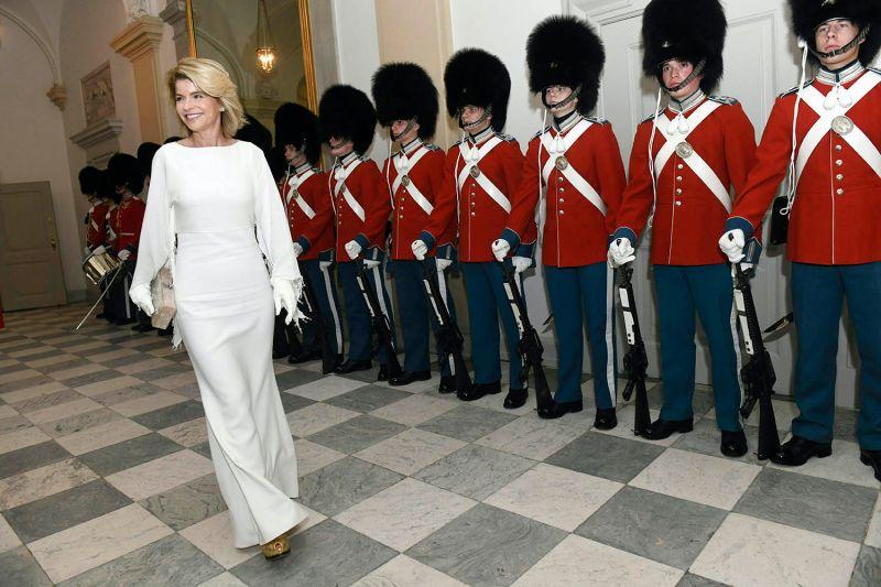 U.S. Ambassador to Denmark Carla Sands attends a reception in Denmark.