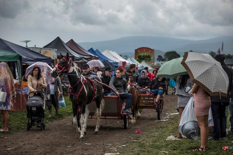 The annual Appleby Horse Fair