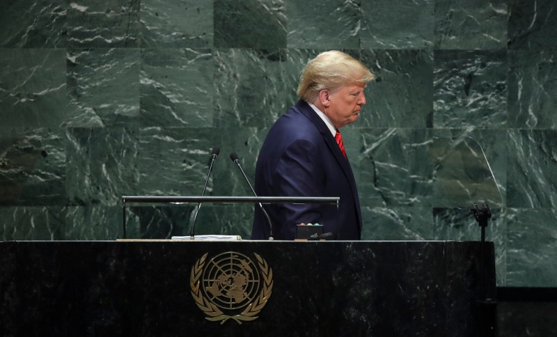 Bill Clinton Got a Standing Ovation From U.N. Leaders When Facing Impeachment. Trump Has Received Little Sympathy.