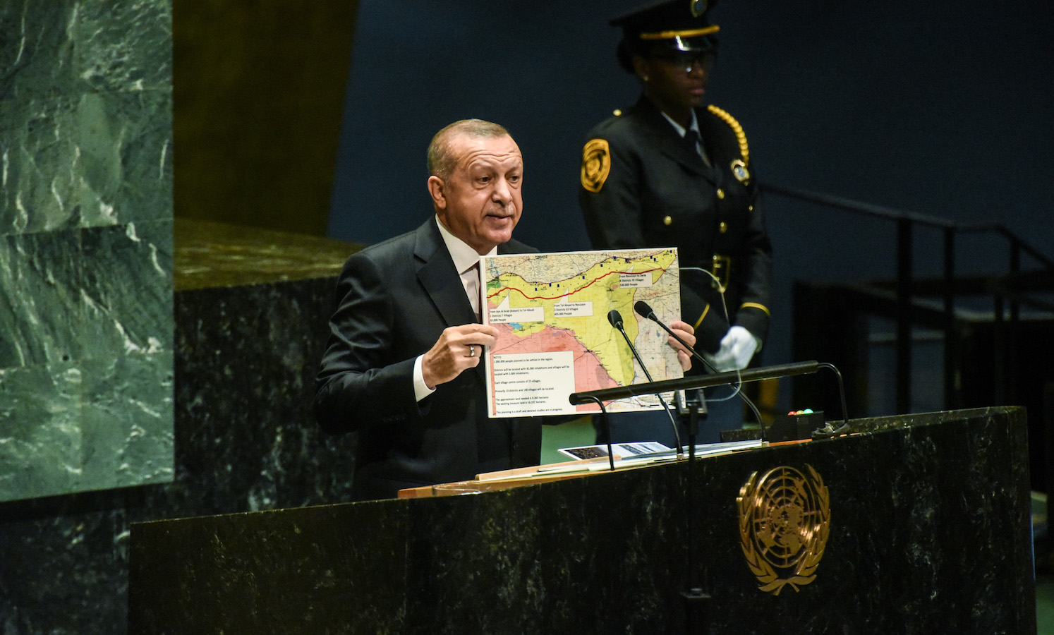 Turkey Pitches Plan to Settle 1 Million Refugees in Northern Syria
