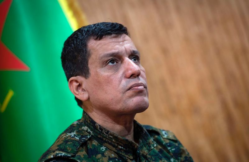Mazloum Abdi, the commander in chief of the Syrian Democratic Forces