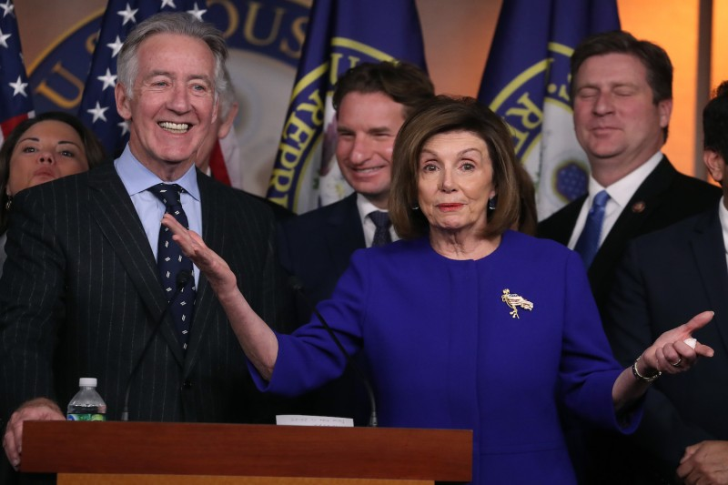 Top Democrats, including House Speaker Nancy Pelosi and Ways and Means Committee Chairman Richard Neal,