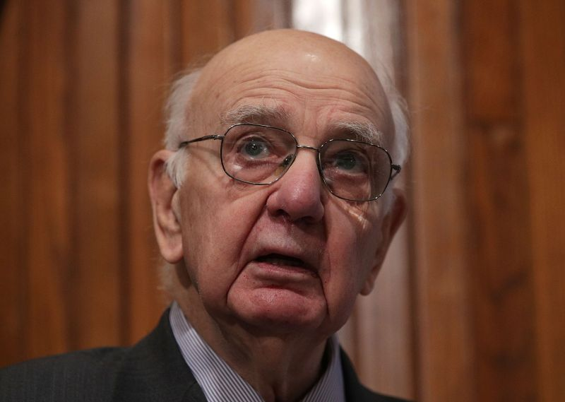 Former Chairman of the Federal Reserve Paul Volcker