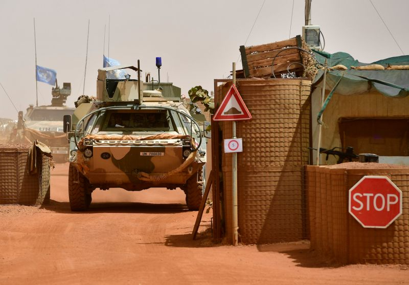U.N. forces in Mali.