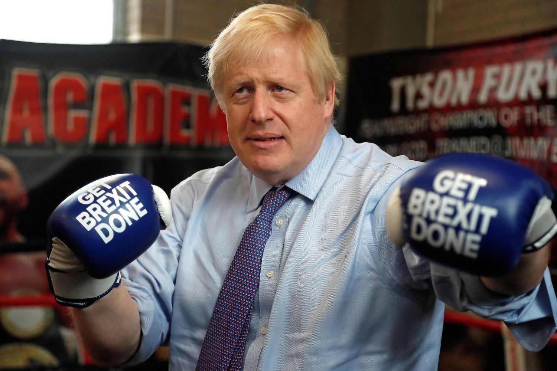 Boris election get brexit done