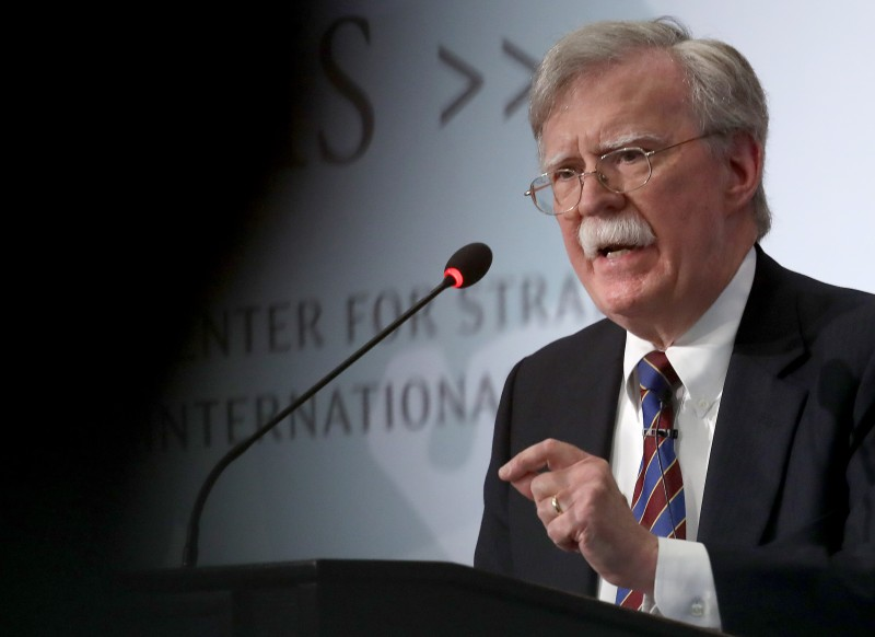 Former U.S. National Security Advisor John Bolton