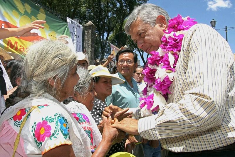 Mexico's Andrés Manuel López Obrado