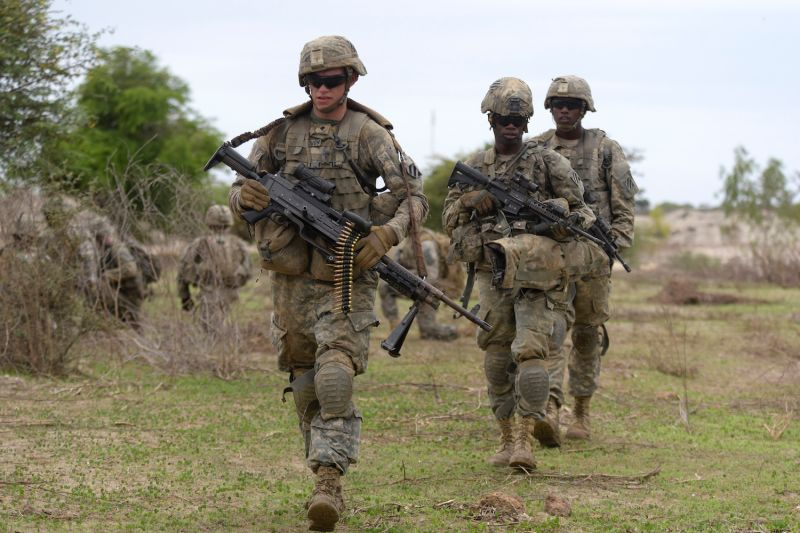 U.S. soldiers in Senegal