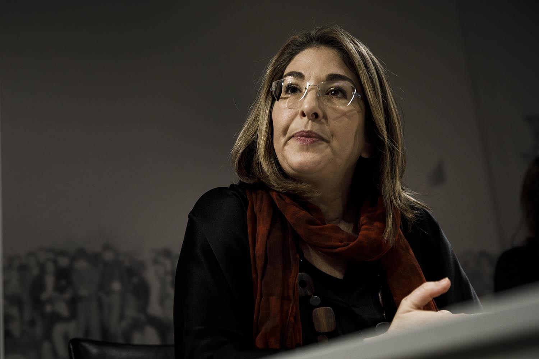 Climate activist Naomi Klein in Berlin on Dec. 12, 2019.