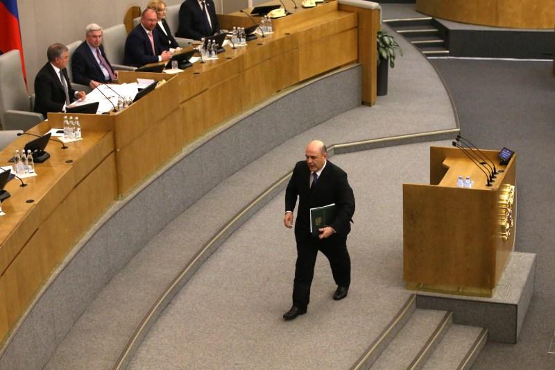 New Russian Prime Minister Mikhail Mishustin