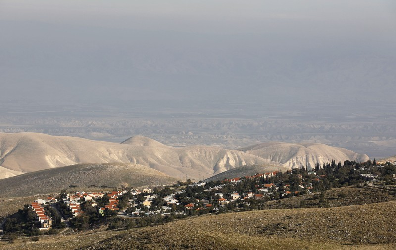 A view of the Israeli settlement of Maale Efrayim in the Jordan valley in the occupied West Bank on Jan. 27.