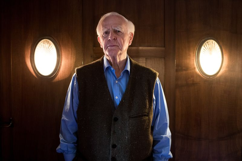 British best-selling author John le Carré on Oct. 16, 2017. Christian Charisius/picture alliance via Getty Images