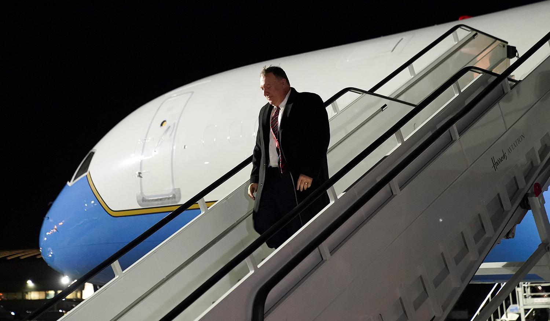 Pompeo Heads to Ukraine Amid Trump Impeachment Trial
