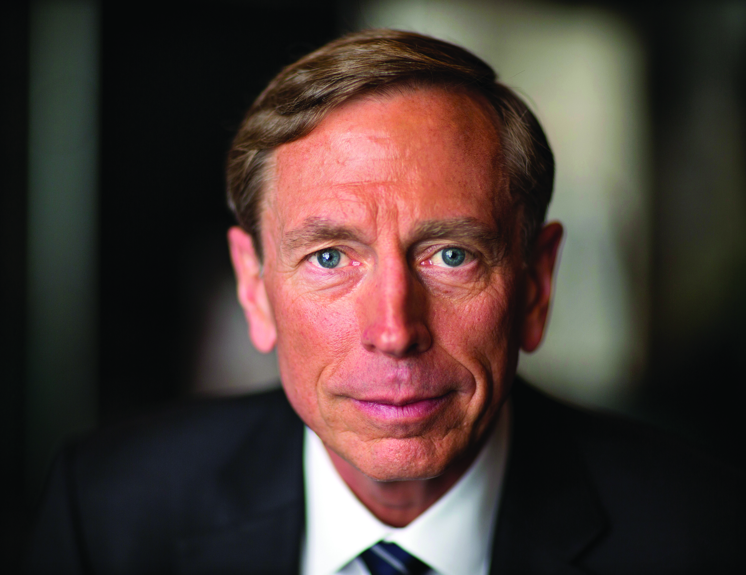 NEW YORK-- JULY 22:  Former CIA Director GEN David Petraeus during interview for CBS/Showtime documentary on CIA directors, New York, New York, July 22, 2015. (Photo David Hume Kennerly/GettyImages)