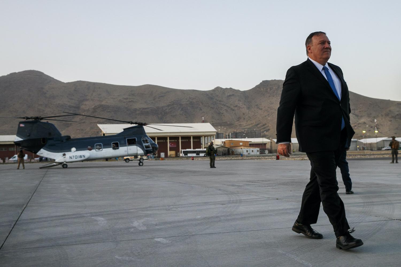 Pompeo Announces Taliban Peace Deal Plan