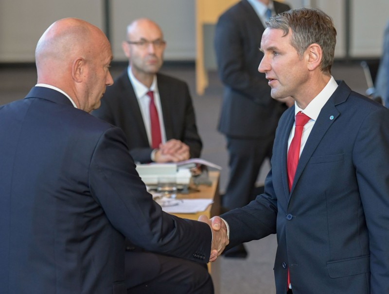 Björn Höcke and Thomas Kemmerich
