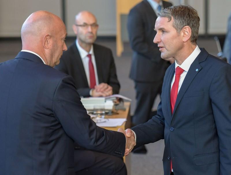 Björn Höcke and Thomas Kemmerich