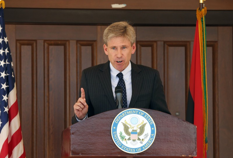 Then-U.S. Ambassador to Libya J. Christopher Stevens