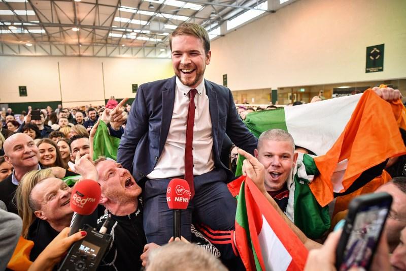 Sinn Fein's Donnchadh O Laoghaire