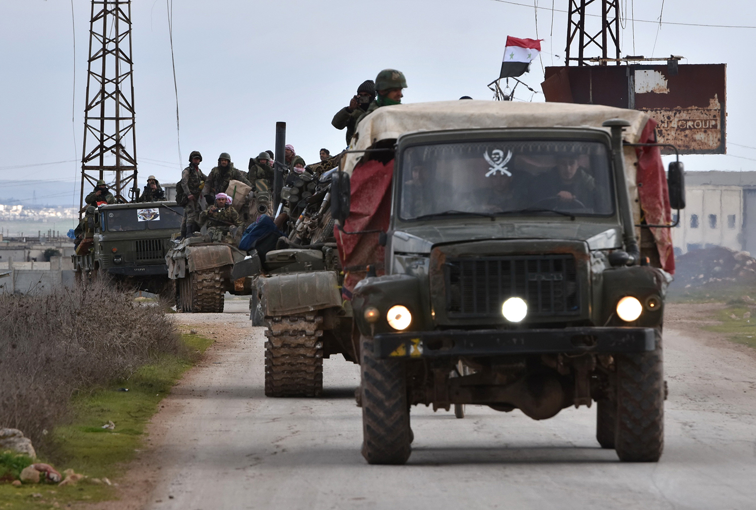 Crisis Grows in Northwest Syria