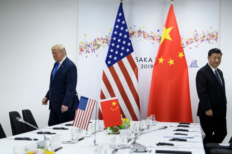 U.S. President Donald Trump and Chinese President Xi Jinping meet in Japan.