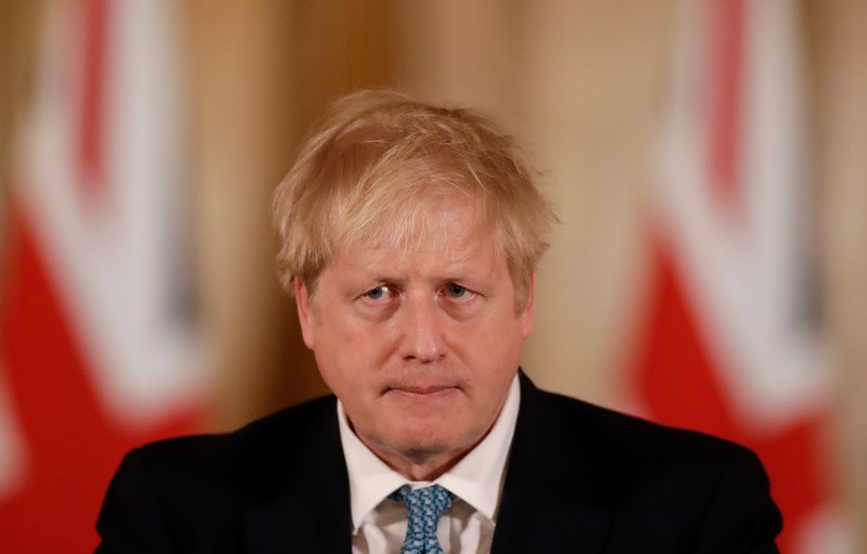 British Prime Minister Boris Johnson