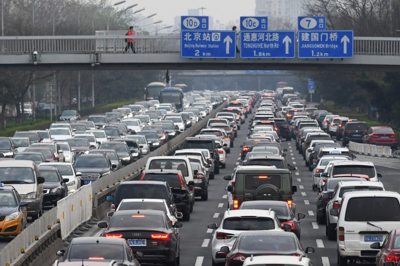 Traffic in Beijing