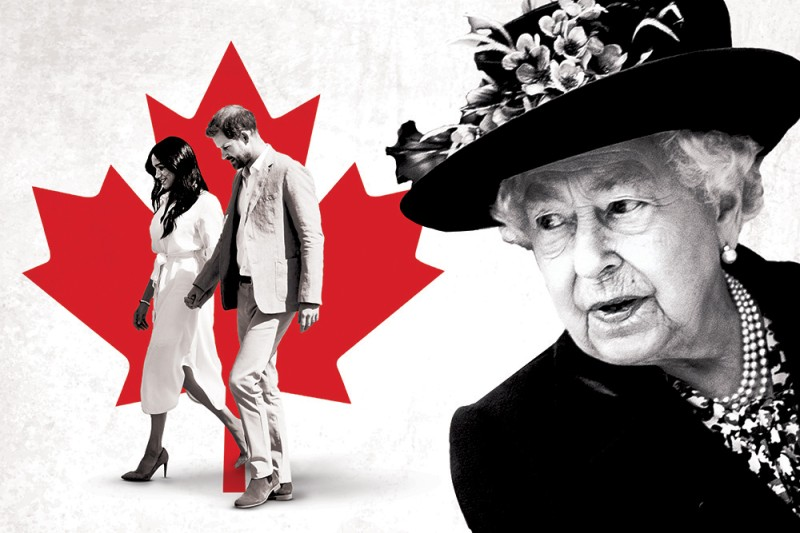 Prince Harry and Meghan Markle are making Canada their home—but support for the monarchy is looking shaky.