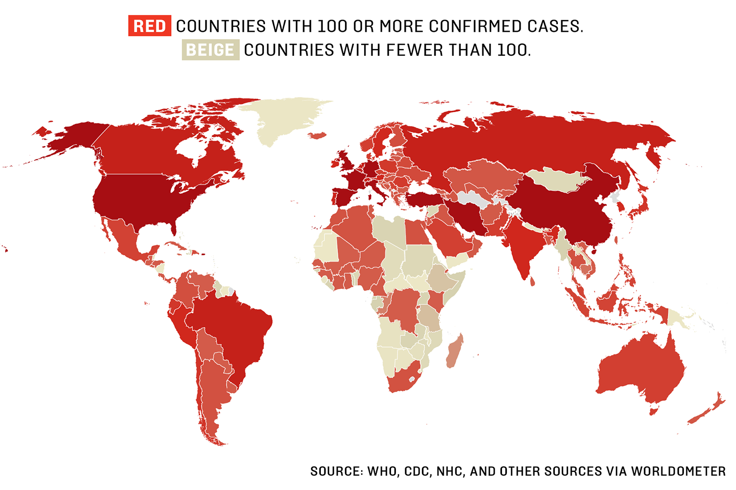 Coronavirus Map: Daily Updates on the Toll of the COVID-19 Pandemic